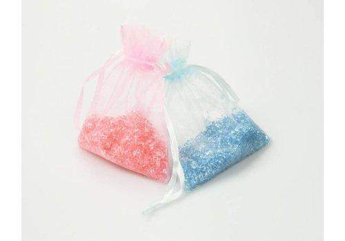 CREApop® Acryl strooisel in organza zakken