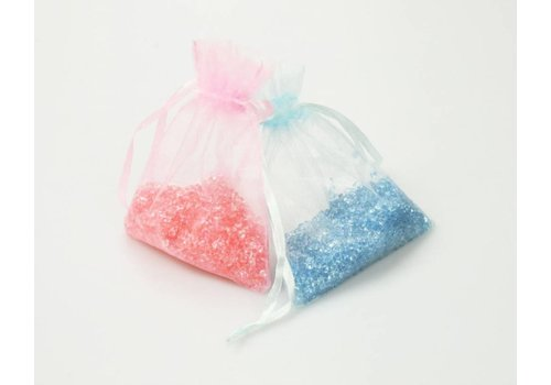 CREApop® Litière acrylique en sacs d'organza