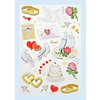 CREApop® Sticker Hochzeit I