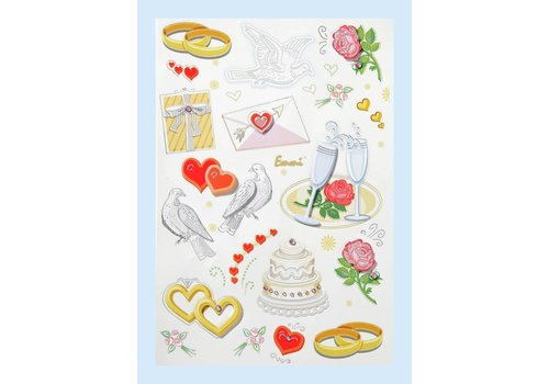 CREApop® Stickers Wedding I