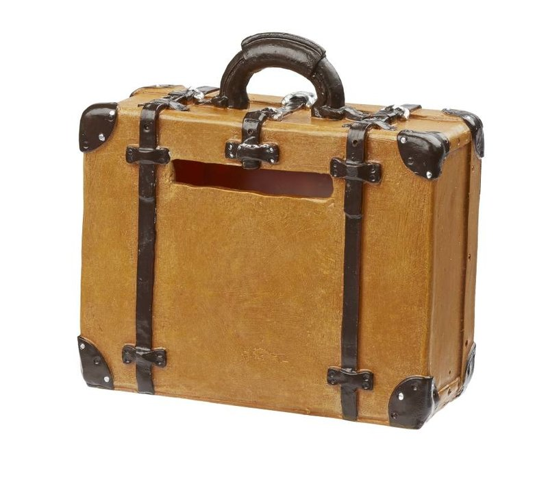 Suitcase for gifts of money