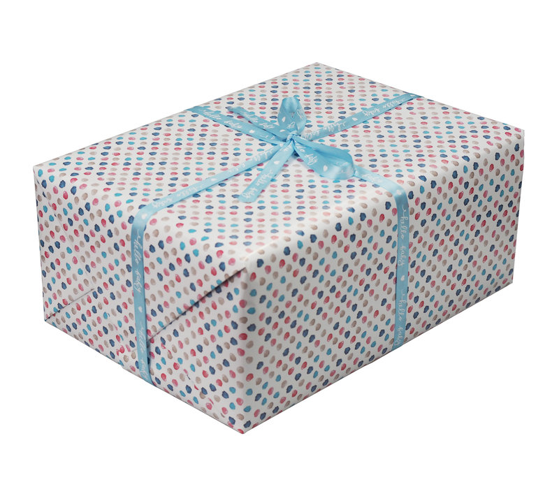 "envoltorio de regalo ""punto"""