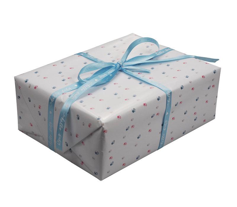 """geschenkverpakking """"handje"""""""