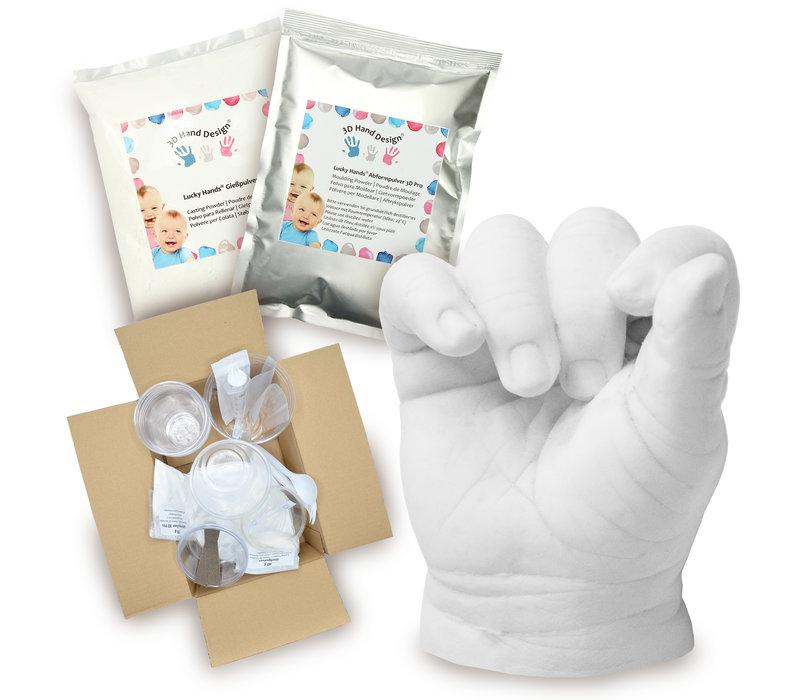 Lucky Hands® Sets di impronte per neonati e bambini piccoli