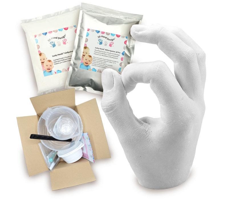 Lucky Hands® Sets di impronte per bambini, adolescenti e adulti