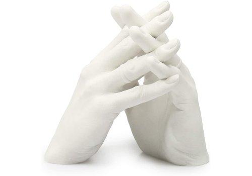 "Lucky Hands® Kit per impronte ""Famiglia & Matrimoni"" DUO"