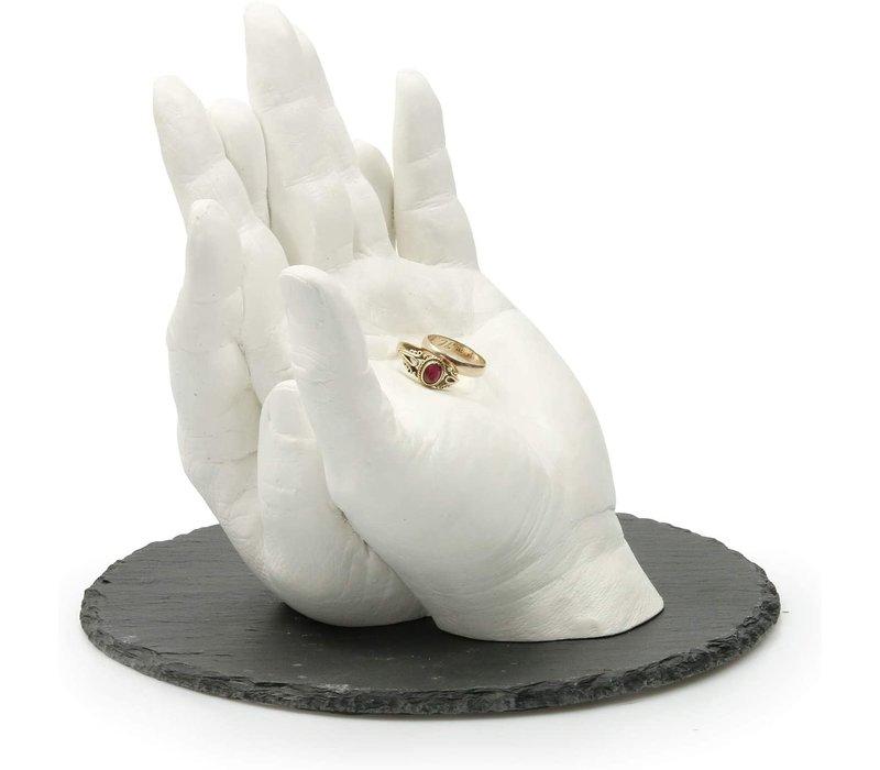 "Kit per impronte Lucky Hands® ""Famiglia & Matrimoni"" DUO"