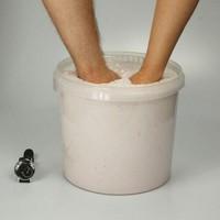 """Lucky Hands® Kit per impronte """"Famiglia"""" TRIO con Cubo di Acrilico"""
