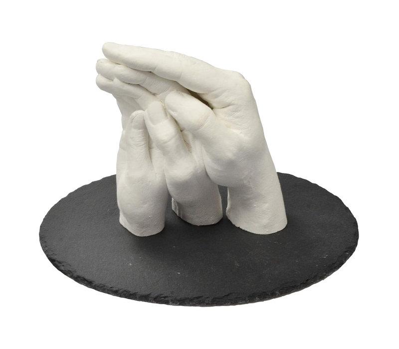 """Lucky Hands® Kit per impronte """"Famiglia"""" TRIO+"""