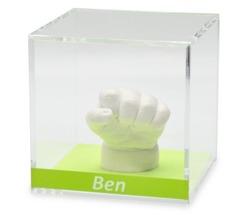 Lucky Hands® Acrylglasblokjes met opschrift