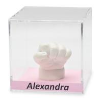 Lucky Hands® Cubi di vetro acrilico con iscrizione
