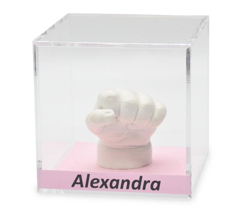 Lucky Hands® Cubos de vidrio acrílico