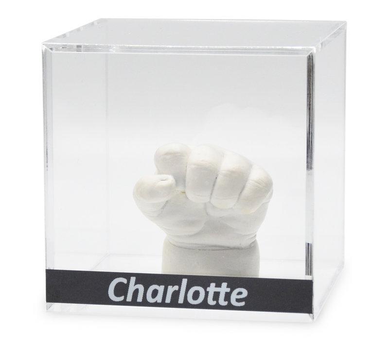 Lucky Hands® Acrylic cube with inscription