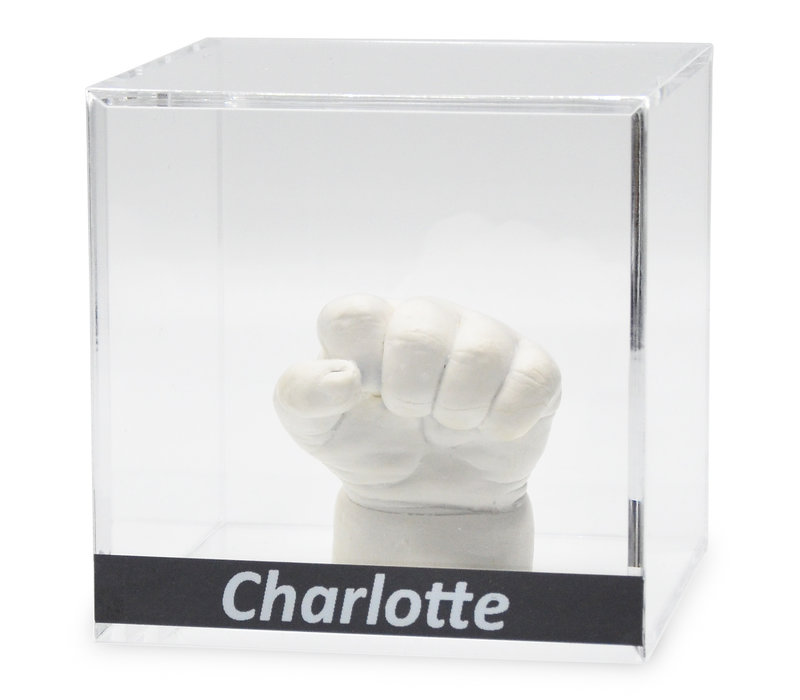 Lucky Hands® Akrylglas kuber med indskrift