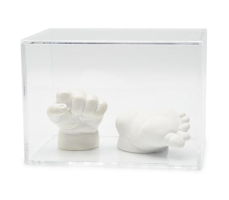 Lucky Hands® Vitrine en verre acrylique
