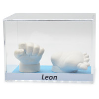 Lucky Hands® Acrylic display case with inscription