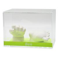 Lucky Hands® Akryl display taske med indskrift