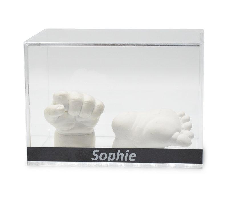Lucky Hands® Acrylglas vitrines met opschrift