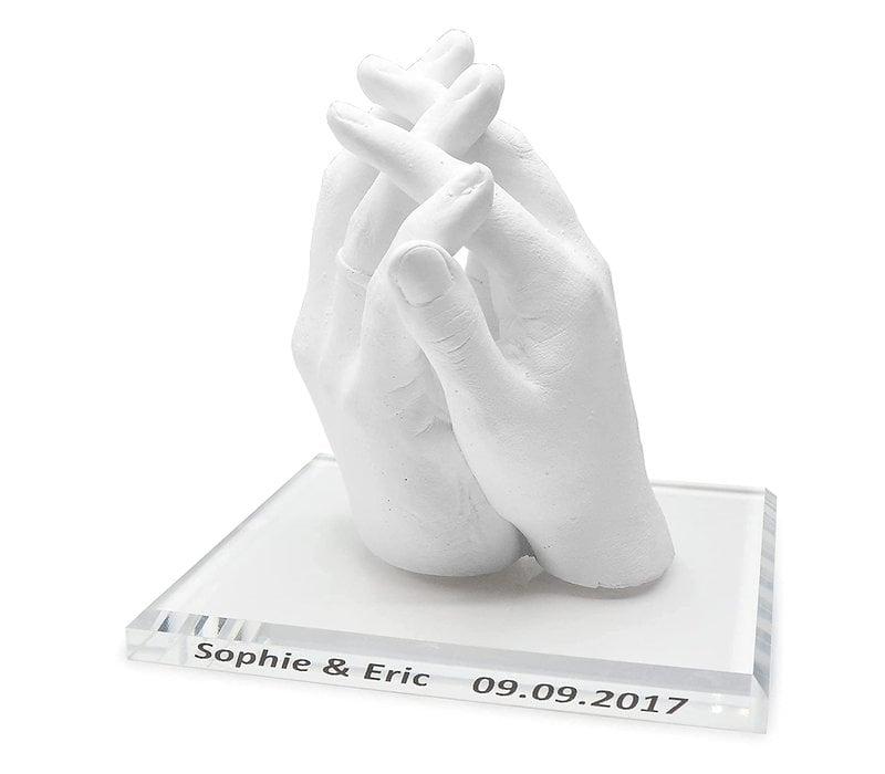 Lucky Hands® Base de vidrio acrílico