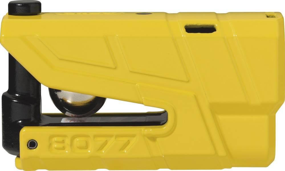 Schijfremslot Granit Detecto X Plus 8077 alarm ART 4 Geel