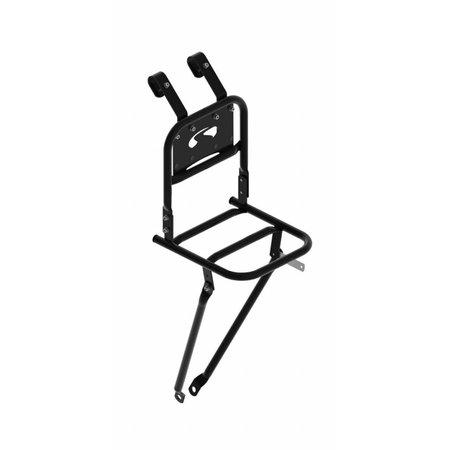Steco Transport Comfort kleine voordrager voor kinderfiets - zwart