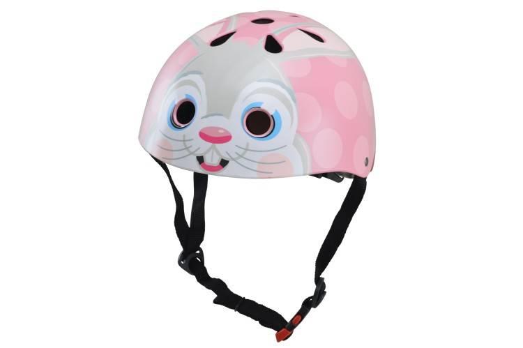Kinderhelm Pink Bunny Small