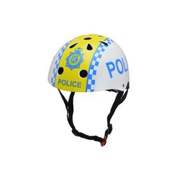 Kiddimoto Kinderhelm Police Medium