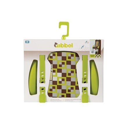 Qibbel Stylingset Luxe Voorzitje Checked Green