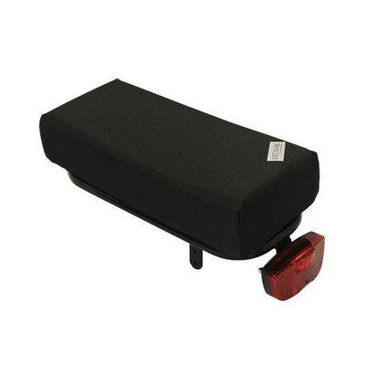 Hooodie Big Cushie Black Solid