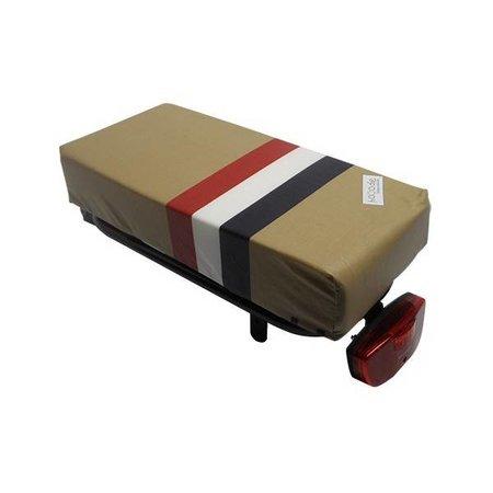 Hooodie Big Cushie PTT - zacht, authentiek en dik fietskussen voor op bagagedrager
