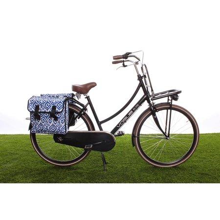 Basil Dubbele fietstas Mara XL Double Bag Indigo kat