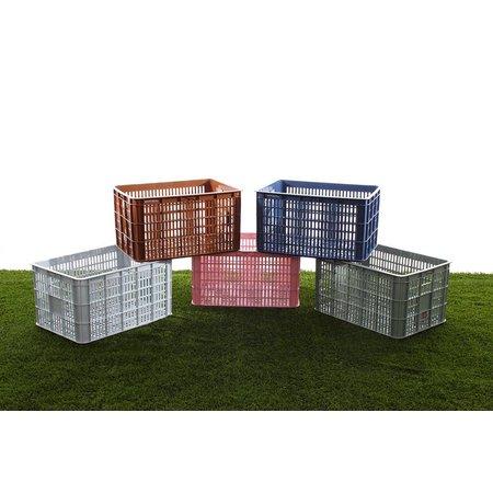 Basil Fietskrat Crate 50L Faded blossom voor MIK/Racktime