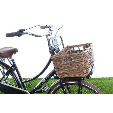 Wicked Kratmand S Bruin 19L - klassieke fietsmand