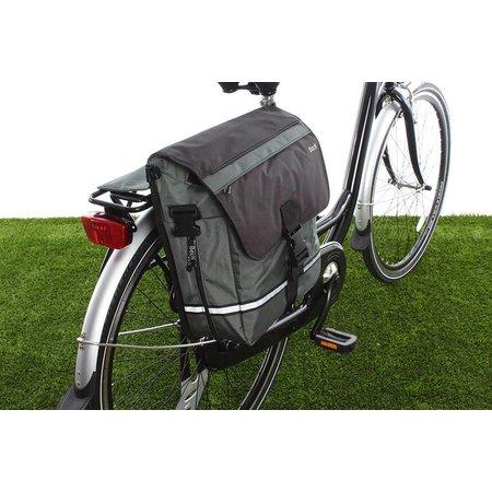 Beck Enkele fietstas YES! Groen | fijne details | sportief én woon-werk