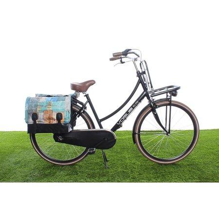 Beck Dubbele fietstas Drift Wood - 46 liter