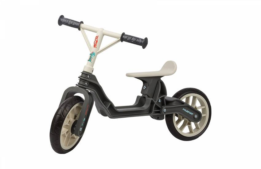 Loopfiets Balance Bike Grijs-cr�me
