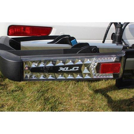 XLC Fietsendrager Azura Xtra LED met ledverlichting – kantelbaar