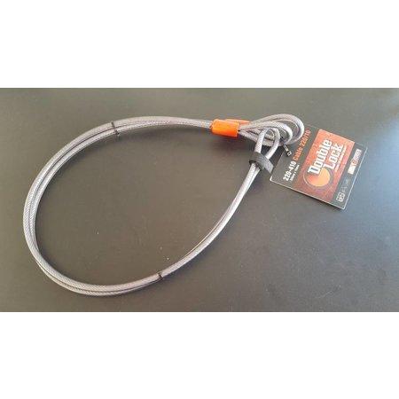 DoubleLock Losse kabel 220 CM - 10 MM - voor hangslot