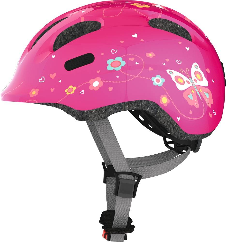 Kinderhelm Smiley 2.0 Pink Butterfly S