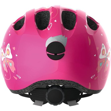 ABUS Kinderhelm Smiley 2.0 Pink Butterfly S