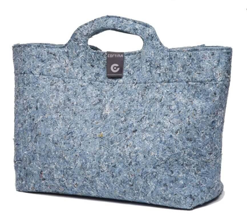 Sofia Shopper Bag 18L Denim Blue