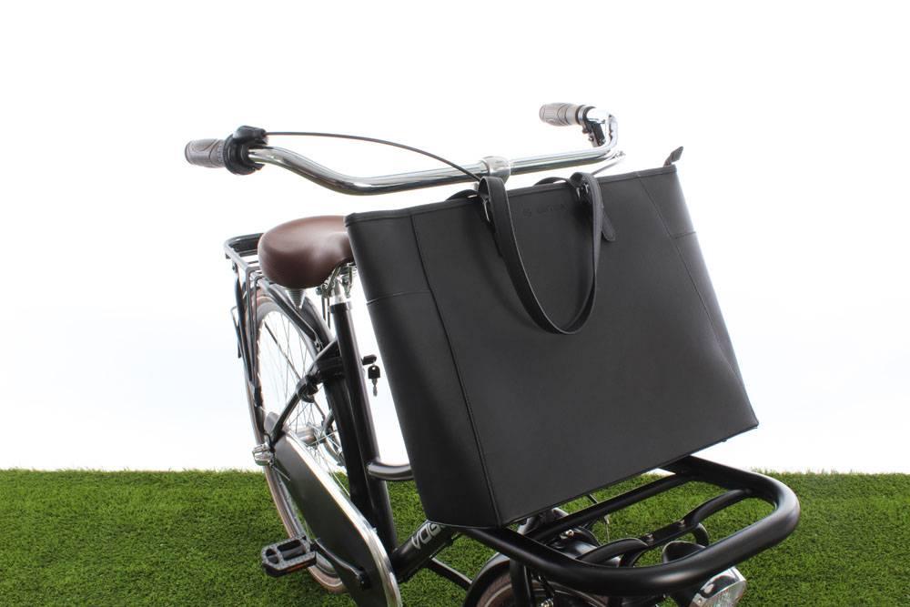 Milan Handbag Black 23L - handtas voor voordrager