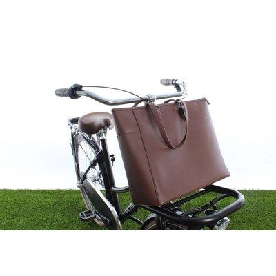 Cortina Milan Handbag Brown 23L - handtas voor voordrager