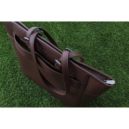 Cortina Milan Handbag Brown 23L - handtas speciaal voor voordrager