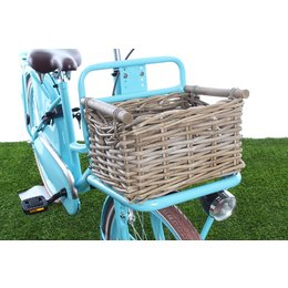 Fastrider Fietsmand Junior Rotan Bamboo Naturel  8L