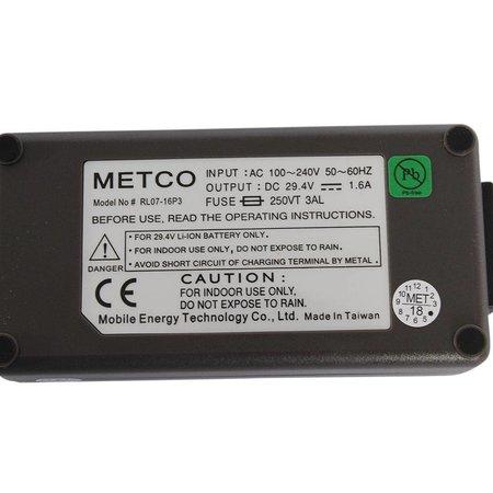 METCO Acculader e-bike 24V 1,6A