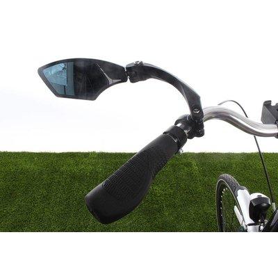 Mirage Fietsspiegel links - draaibaar met licht-dimmend glas