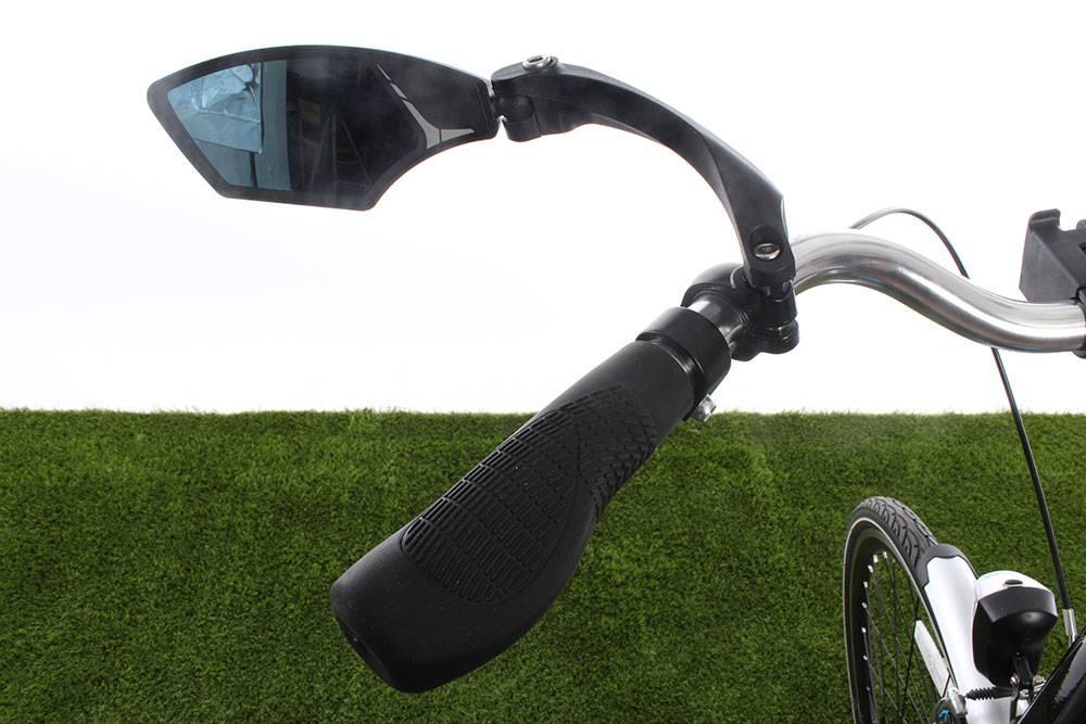 Fiets Stuur Spiegels : Mirage spiegel draaibaar met licht dimmend glas fietsparadijs.com
