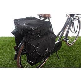 Willex Dubbele fietstas Bagagetas XL 1200 Bovenvak Zwart