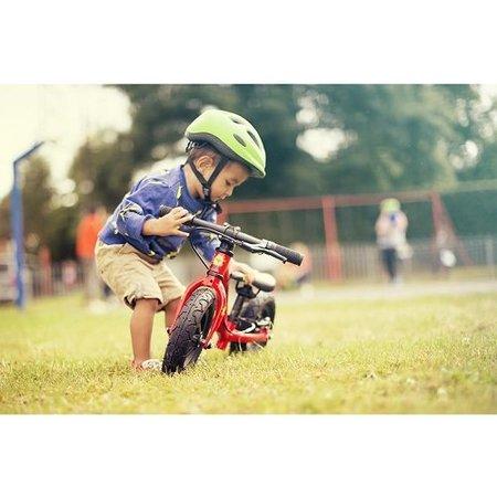 Frog Bikes Loopfiets Tadpole Mini Rood - luxe voor 1-2 jaar!